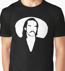 Rock Vampire   Nick Cave   The Bad Seeds Graphic T-Shirt