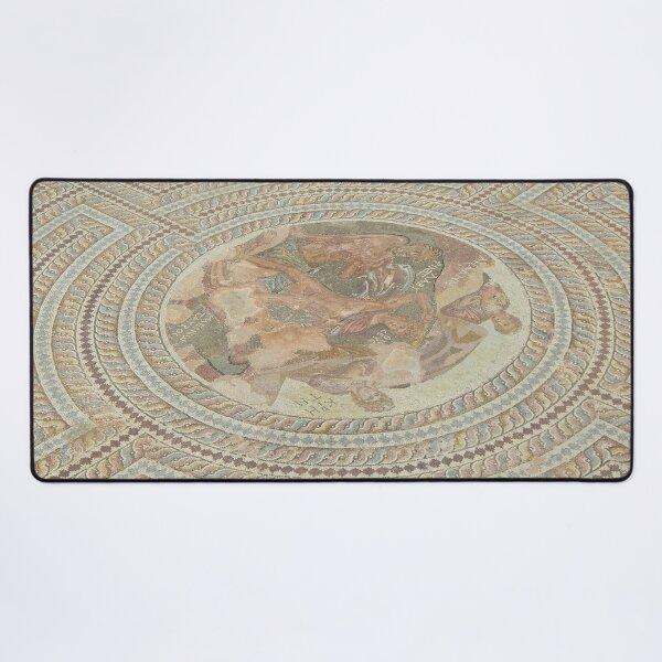 Beautiful Roman mosaic baths floor. Anyone for a dip and massage?  Desk Mat