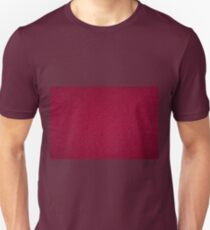 Dark red ragged cardboard texture Unisex T-Shirt