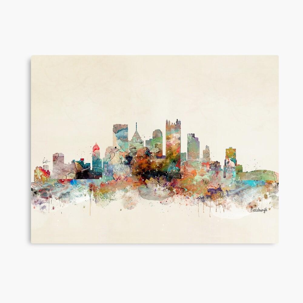 Pittsburgh, Pennsylvania Lámina metálica