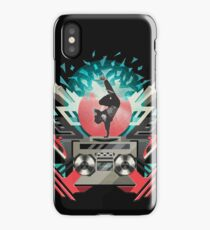 FREEZE (Black) iPhone Case/Skin