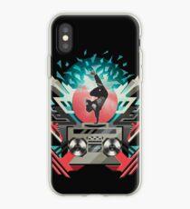 FREEZE (Black) iPhone Case