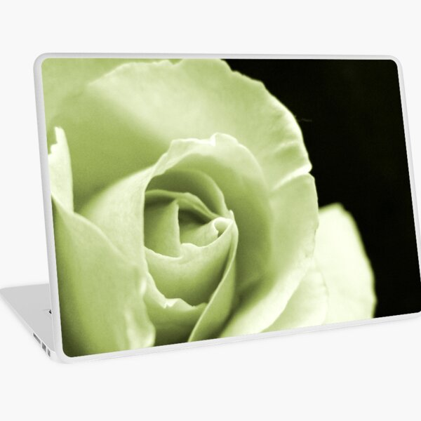 Rose Mono Laptop Skin