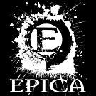 Epica Splatter - White Version by Explicit Designs
