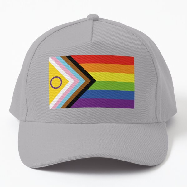Intersex Inclusive Pride Flag Design Baseball Cap