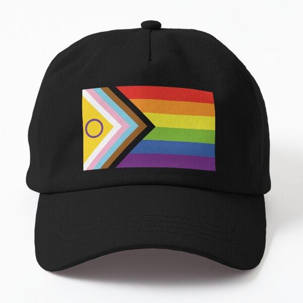 Intersex Inclusive Pride Flag Design Dad Hat