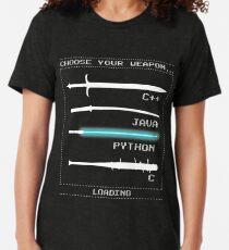 Camiseta de tejido mixto Programador