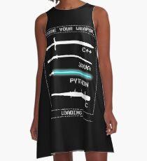 Programmer A-Line Dress