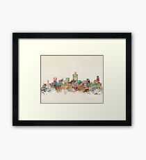 salt lake city utah Framed Print
