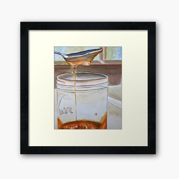 Local Honey Framed Art Print