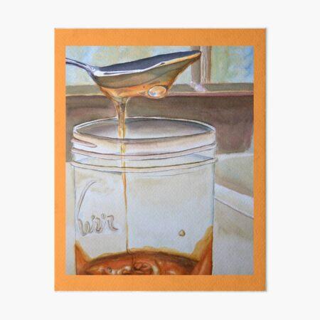Local Honey Art Board Print