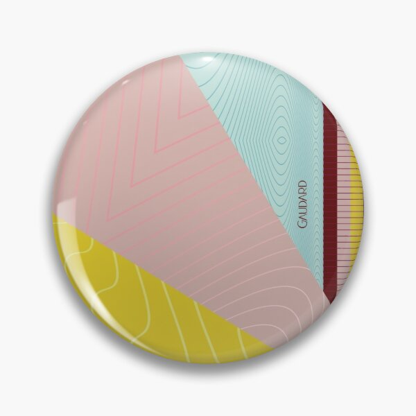Contemporary Wave Pin
