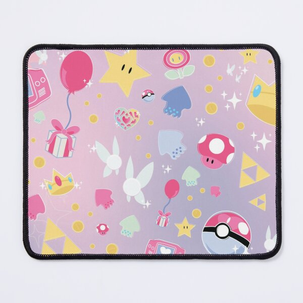 Pastel Video Games Mouse Pad