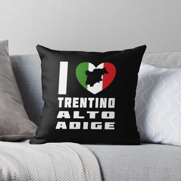 I Love Trentino Alto Adige - I Heart Trentino Alto Adige Italy  Throw Pillow