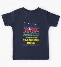 Stand With Standing Rock Shirt Kids T-Shirt