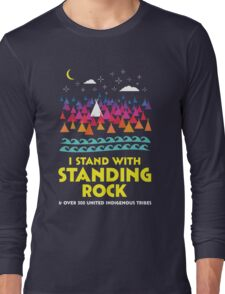 Stand With Standing Rock Shirt Long Sleeve T-Shirt