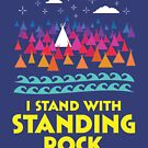 Stand With Standing Rock Shirt by Andrew Hart