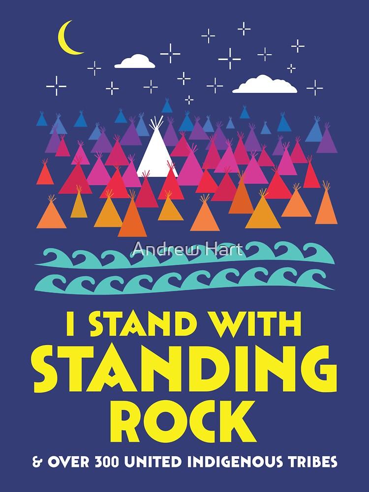 Stand con camisa de pie Rock de AndrewHart