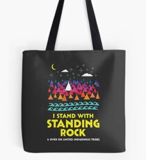 Stand With Standing Rock Shirt Tote Bag