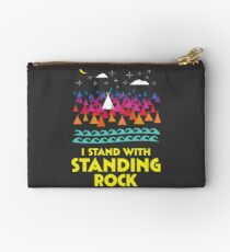 Stand With Standing Rock Shirt Studio Pouch