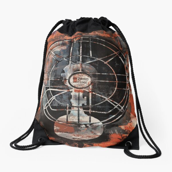 RustedRetroFan Drawstring Bag