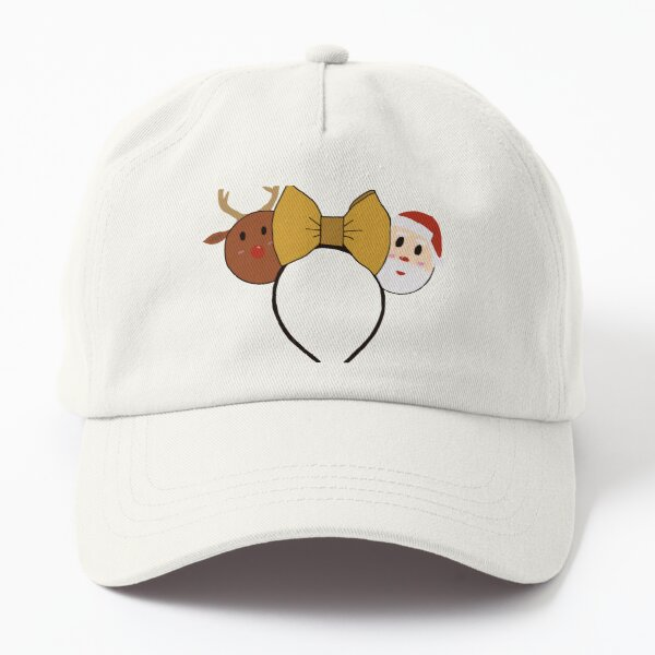 Christmas Minnie ears  Dad Hat