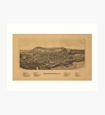 Cooperstown New York 1890 Art Print