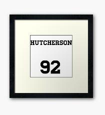 Josh Hutcherson Jersey Framed Print
