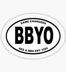 BBYO ORIGINAL OVAL STICKER Sticker