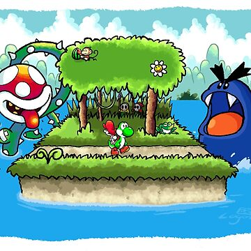 A Yoshi's Story by logan-niblock