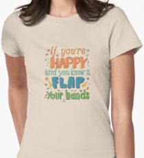 Happy Flappy Women's Fitted T-Shirt