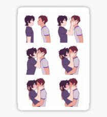 Klance Kisses Sticker