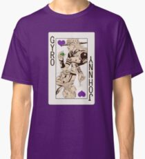 Gyro Zeppeli - Jack of Hearts Classic T-Shirt