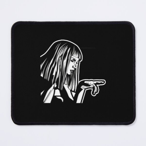BladeRunner 2049 Joi Black and White  Mouse Pad