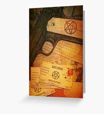 Violent Souls - Bodin Cover Variant Greeting Card