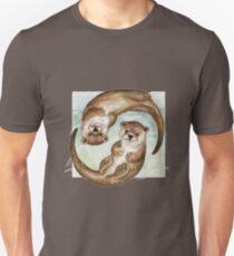 Otters over Praha Unisex T-Shirt