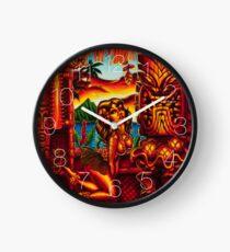Howies Tiki Lani Clock Clock