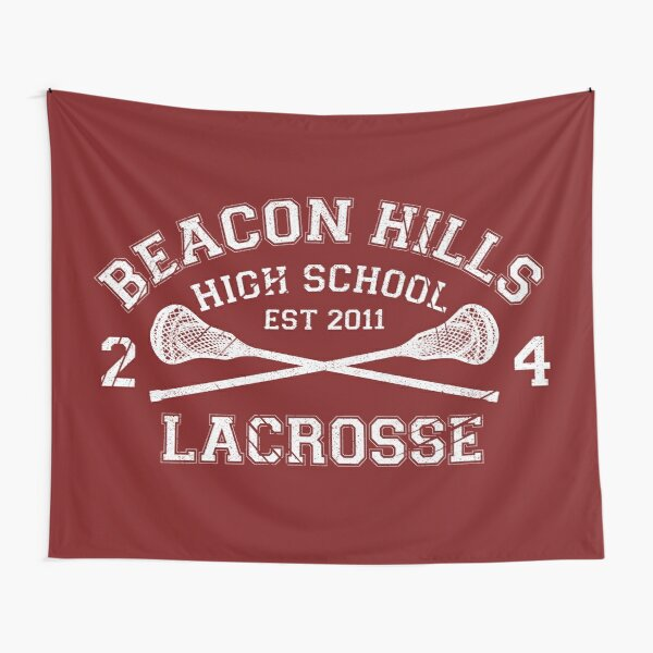Lacrosse de Beacon Hills Tentures