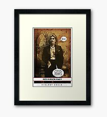 Violent Souls - Red Mirror Mary Framed Print