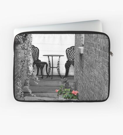 At the end of the alley Laptop Sleeve