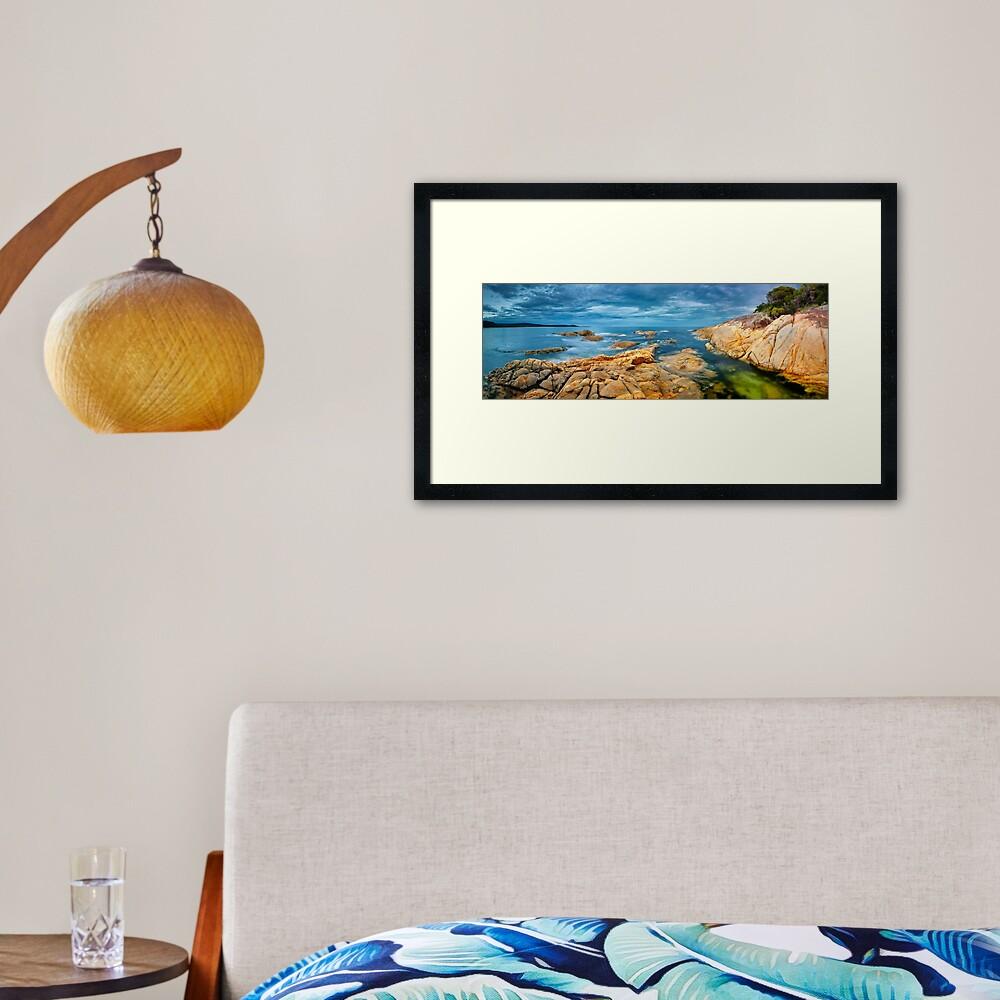 Wingan Inlet, Croajingolong National Park, Victoria, Australia Framed Art Print