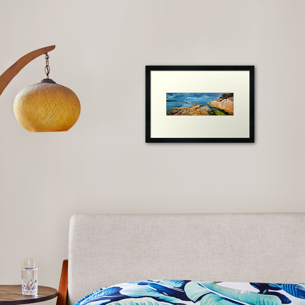 Wingan Inlet, Croajingolong National Park, Victoria, Australia Framed Art Print