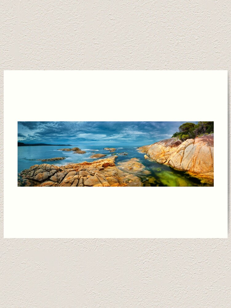 Alternate view of Wingan Inlet, Croajingolong National Park, Victoria, Australia Art Print