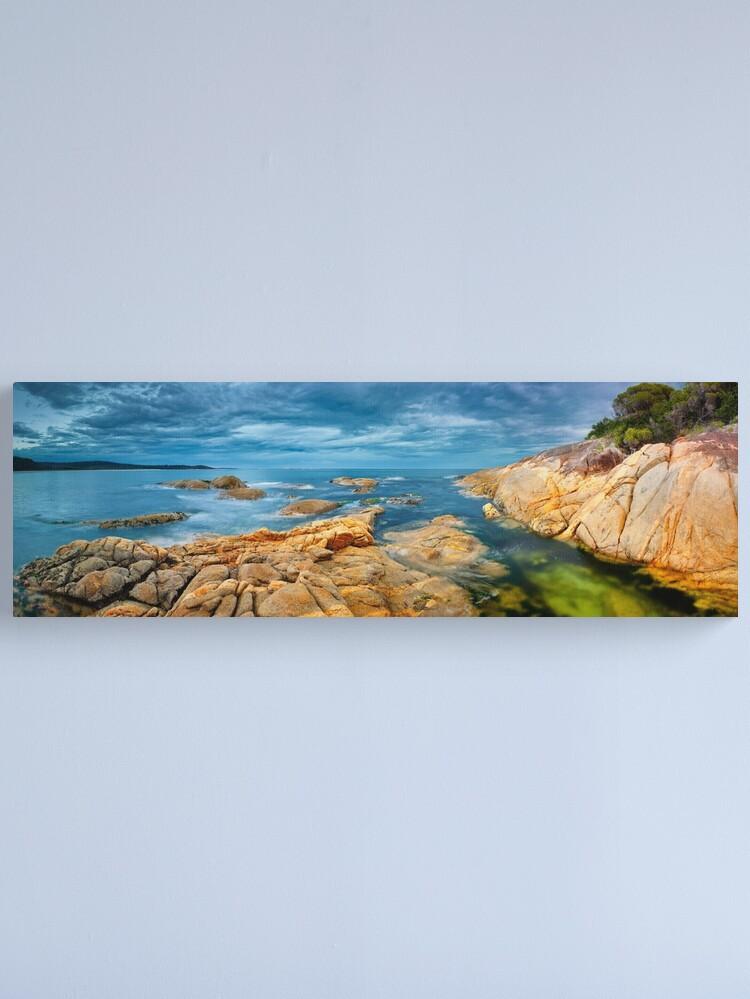 Alternate view of Wingan Inlet, Croajingolong National Park, Victoria, Australia Canvas Print