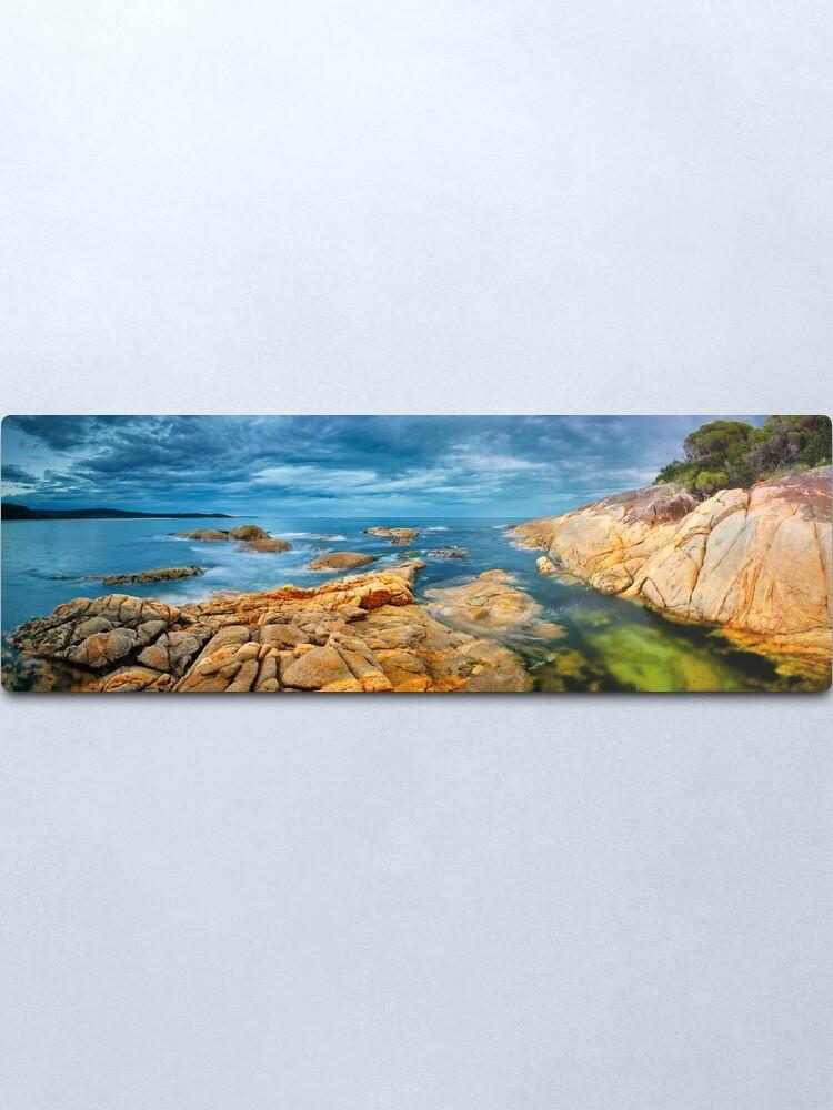 Alternate view of Wingan Inlet, Croajingolong National Park, Victoria, Australia Metal Print