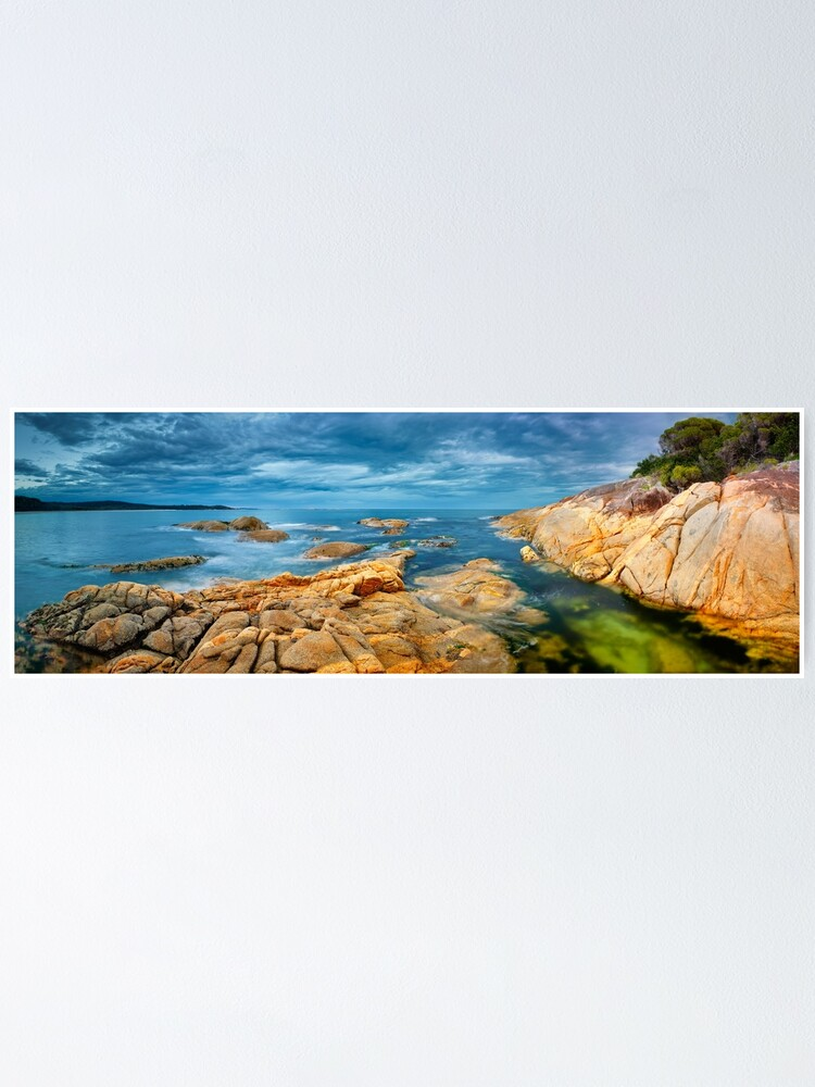 Alternate view of Wingan Inlet, Croajingolong National Park, Victoria, Australia Poster