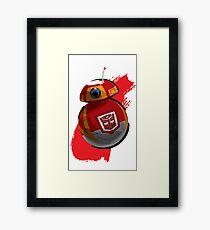 Autobot-BB8 Framed Print