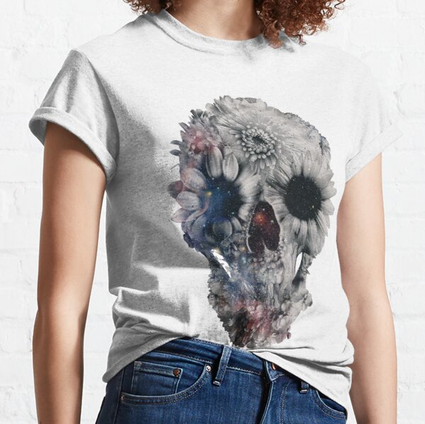 Floral Skull 2 Classic T-Shirt