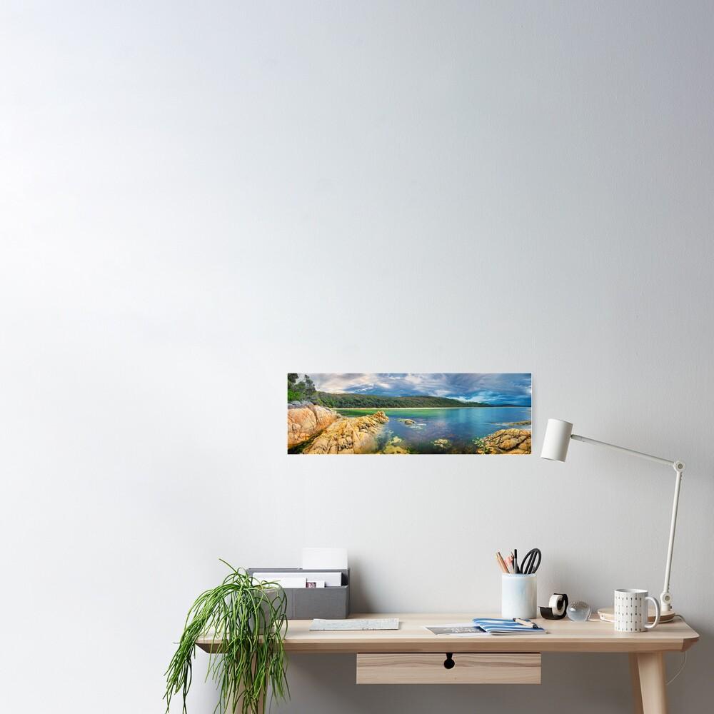 Wingan Inlet, Croajingolong National Park, Victoria, Australia Poster