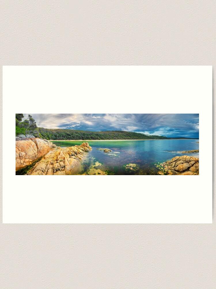 Alternate view of Wingan Inlet, Croajingolong National Park, Victoria, Australia Art Print